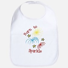 Born To Sparkle Bib