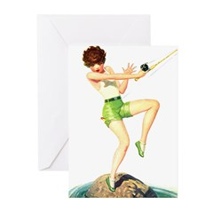 Gone Fishing Greeting Cards (Pk of 10)