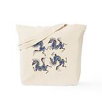 Deer in the Vineyard Tote Bag