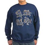 Deer in the Vineyard Sweatshirt (dark)