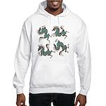 Deer in the Vineyard Hooded Sweatshirt