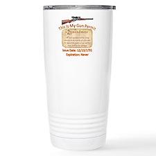 My Permit Travel Mug