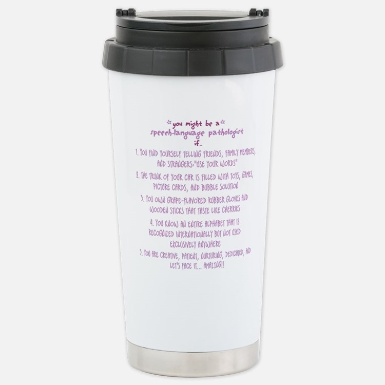 Cute Speech language pathologist Travel Mug