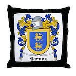 Yarnoz Coat of Arms Throw Pillow