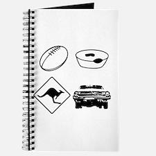 Football, Meat Pies, Kangaroo Journal