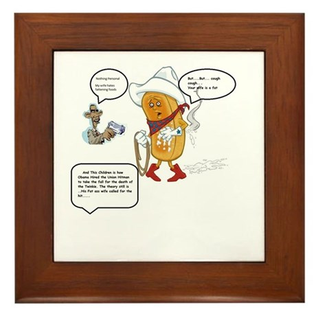 The murder of the Twinkie Framed Tile
