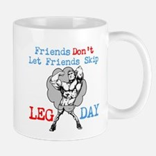 Don't Skip Legs Small Small Mug