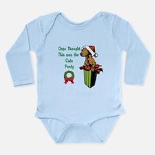 Oops Cute Party Long Sleeve Infant Bodysuit