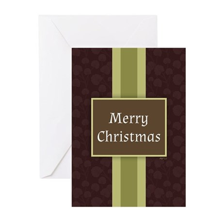 Merry Christmas Greeting Cards (Pk of 10)