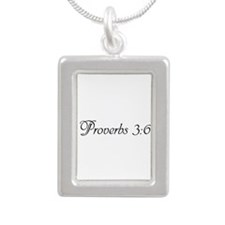 proverbs 3:6 Necklaces