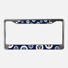 Female Symbol American RWB License Plate Frame