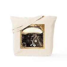 Caballero Cat 2, fancy sepia Tote Bag