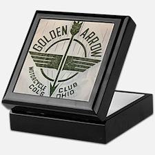 Golden Arrow Motorcycle Club Keepsake Box