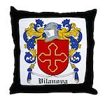 Vilanova Coat of Arms Throw Pillow