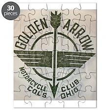 Golden Arrow Motorcycle Club Puzzle