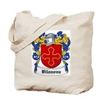 Vilanova Coat of Arms Tote Bag