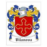 Vilanova Coat of Arms Small Poster