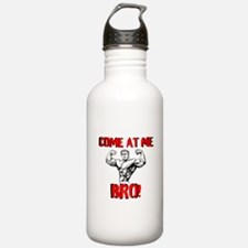 Come At Me Bro Water Bottle