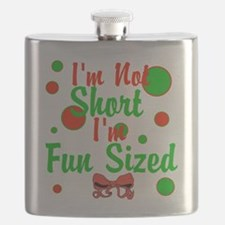 Im Not Short Im Fun Sized Flask