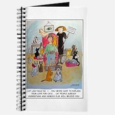 Journal: Cat Lady Rule #1