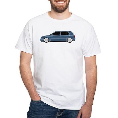 Audi Blue 4 Door GTI