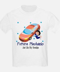 Future Mechanic Like Grandpa T-Shirt