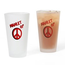 Manlet Drinking Glass