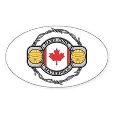 Canada Water Polo Oval Decal