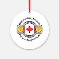 Canada Water Polo Ornament (Round)