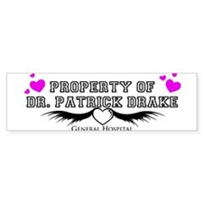 Property of Dr. Drake Bumper Sticker