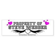 Property of Steve Webber Bumper Sticker
