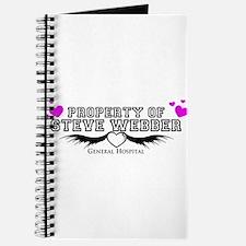 Property of Steve Webber Journal