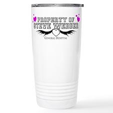 Property of Steve Webber Travel Mug