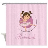 Ballerina Shower Curtains