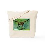 Troodon Dinosaur Tote Bag