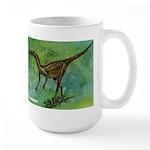 Troodon Dinosaur Large Mug