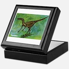 Troodon Dinosaur Keepsake Box