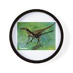 Troodon Dinosaur Wall Clock