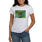 Troodon Dinosaur (Front) Women's T-Shirt