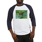 Troodon Dinosaur Baseball Jersey