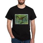 Troodon Dinosaur (Front) Dark T-Shirt