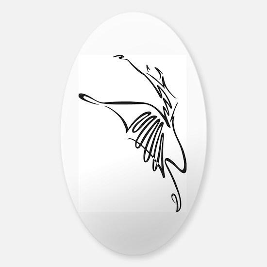 DANCE Sticker (Oval)