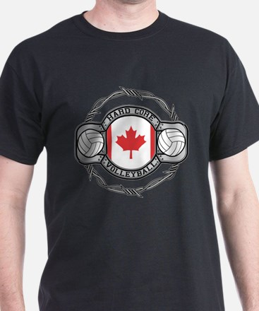 Canada Volleyball T-Shirt