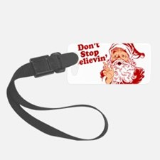 215 Santa Claus believin.png Luggage Tag