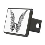 Angel Wings (taller) Rectangular Hitch Cover