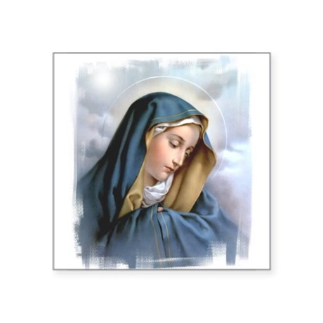 """Our Lady of Sorrows Square Sticker 3"""" x 3"""""""