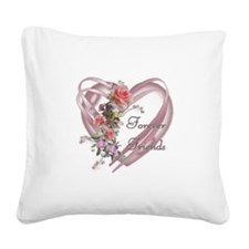Cute Holidays and occasions Square Canvas Pillow