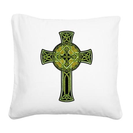 CelticCross.png Square Canvas Pillow