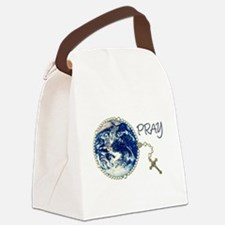 Rosary4World_transp.png Canvas Lunch Bag