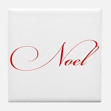Noel Tile Coaster